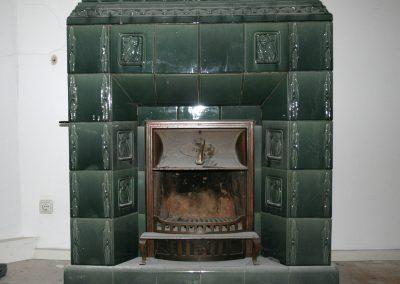 antiker Ofen,vorher